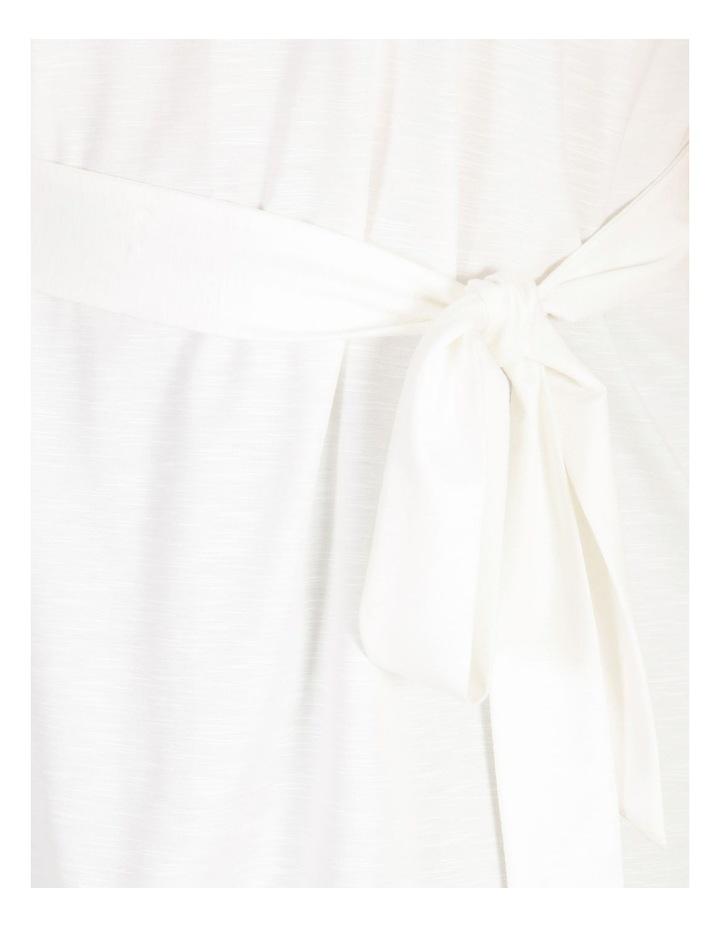 Crinkle Tie Waist Top image 5