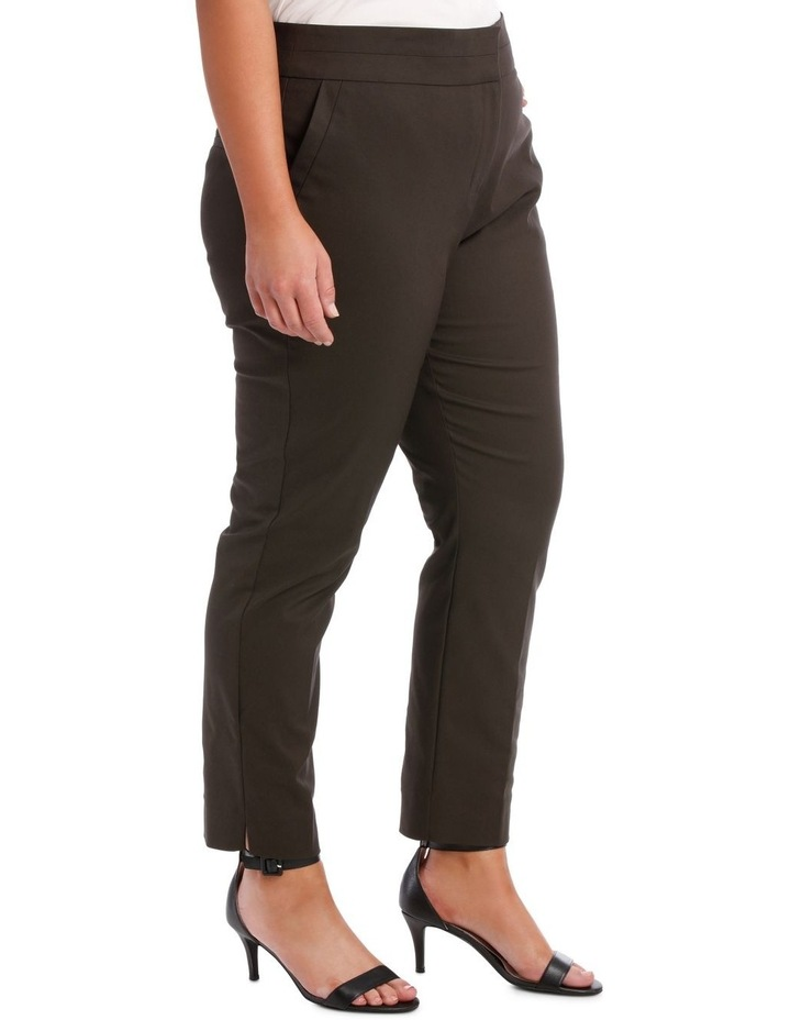 Cotton Sateen Ankle Grazer Pant image 3