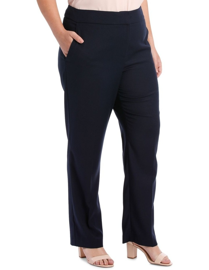 Textured Straight Suit Pant image 2