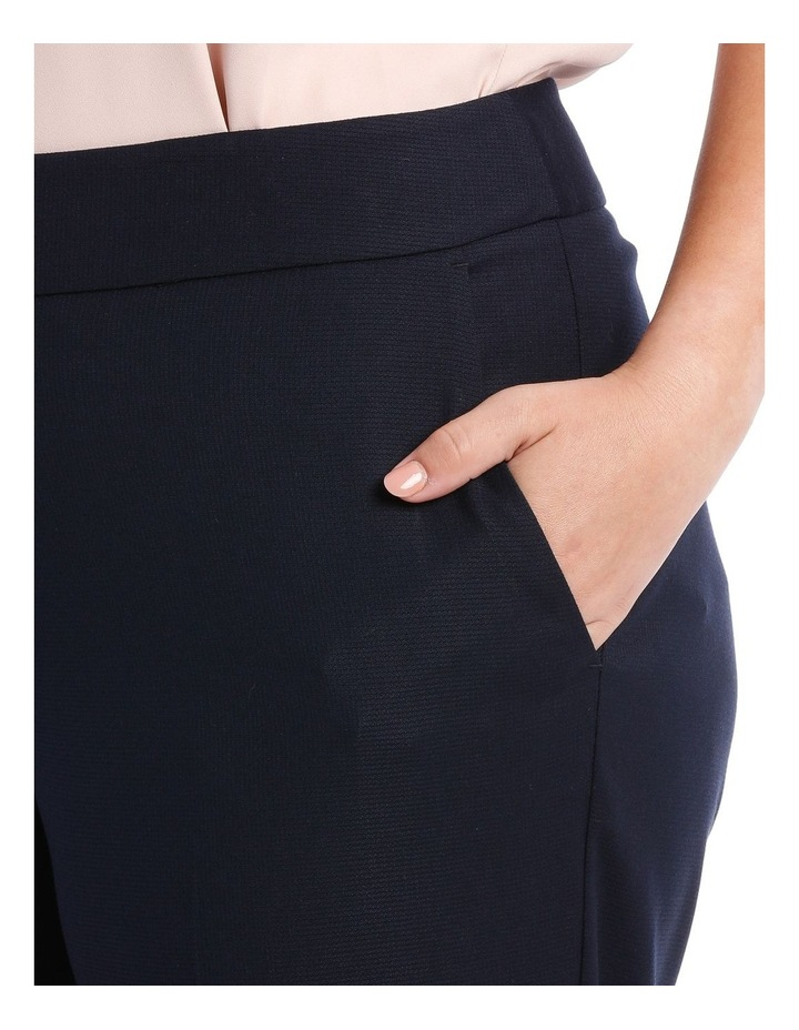 Textured Straight Suit Pant image 4