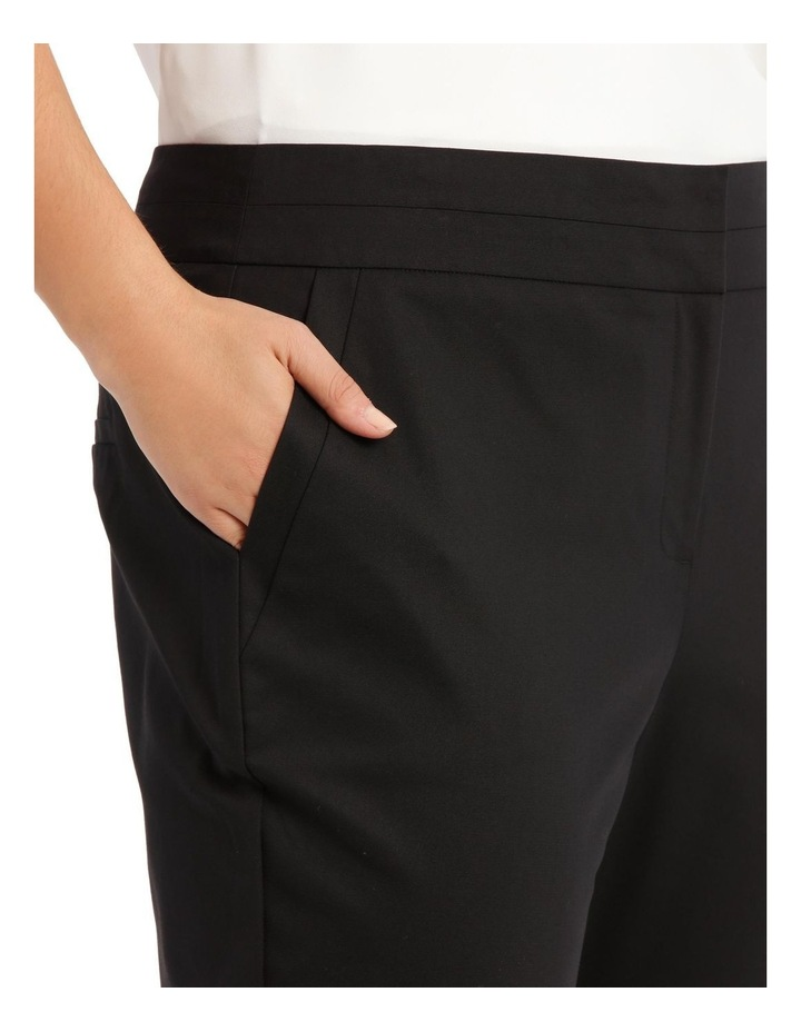Charlotte Cotton Sateen Cropped Pant image 4