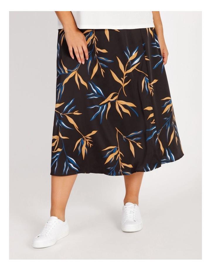 Wrap Printed Skirt image 1