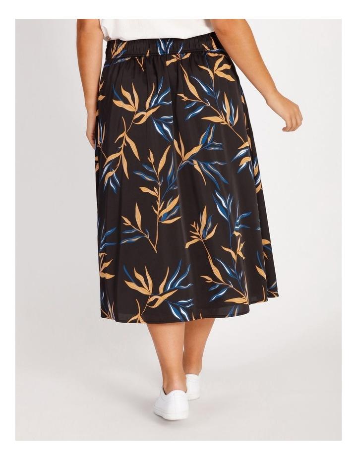 Wrap Printed Skirt image 3