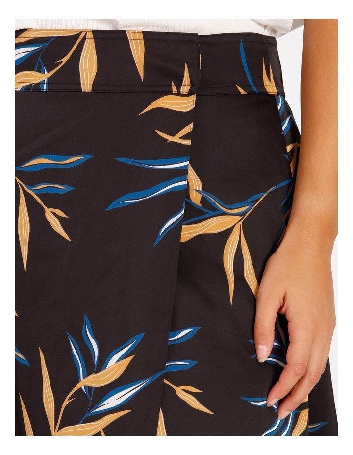 Wrap Printed Skirt image 4