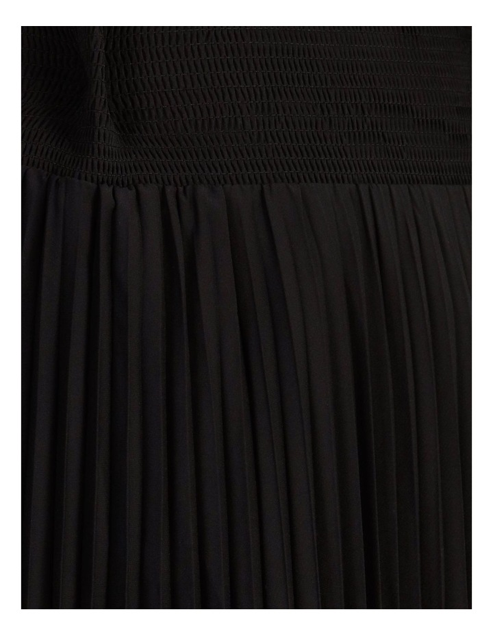 Pleated Skirt With Shirred Waist image 5