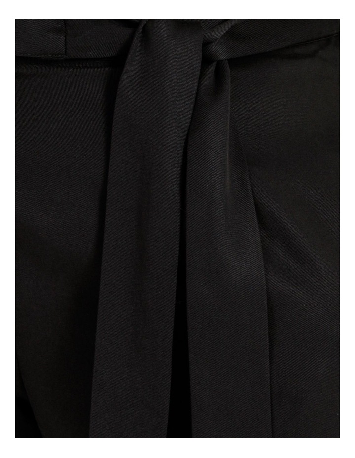 Black Wide Length Pants image 6