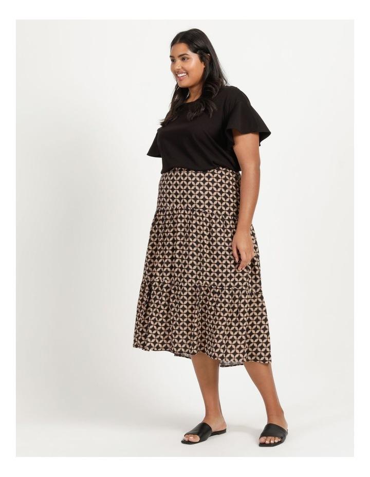 Hi Lo Tiered Skirt image 3