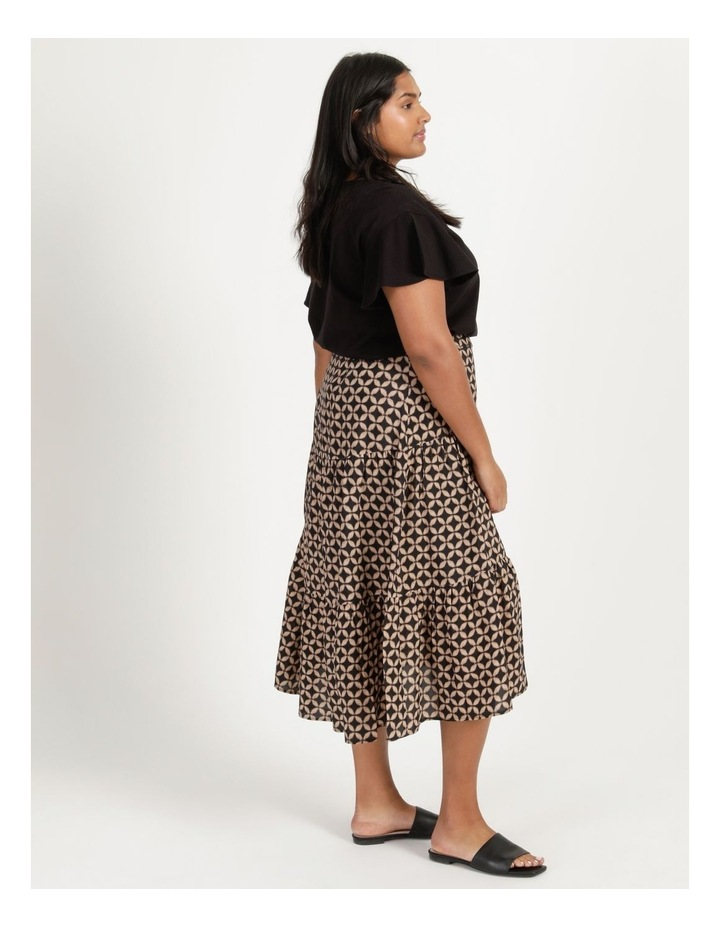 Hi Lo Tiered Skirt image 5