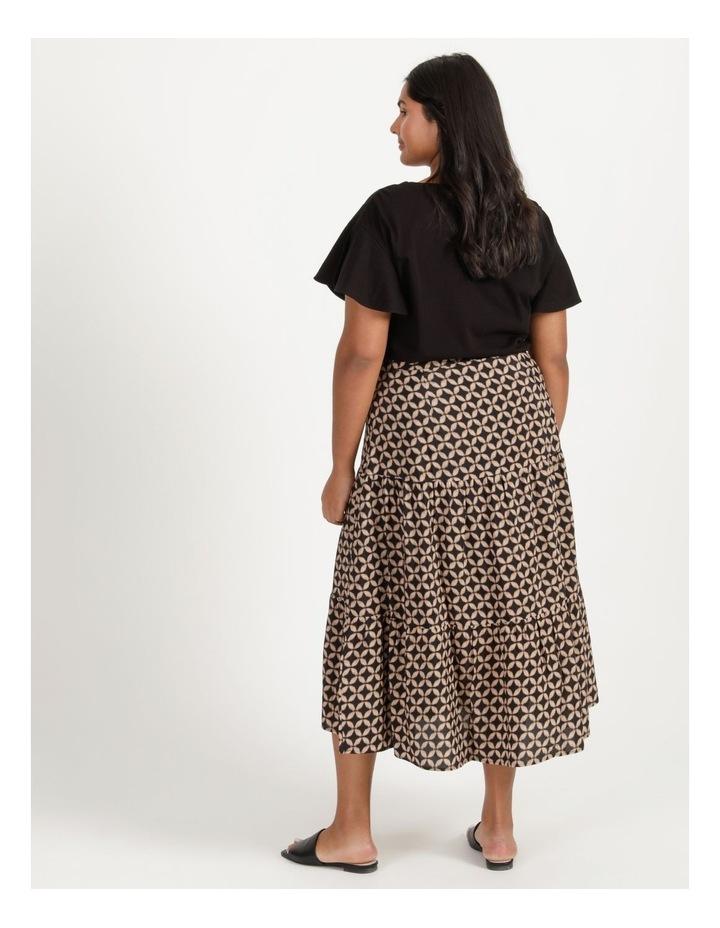 Hi Lo Tiered Skirt image 6
