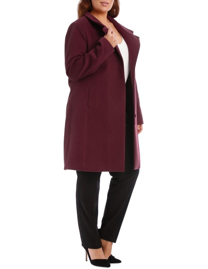 Funnel Neck Coat image 2