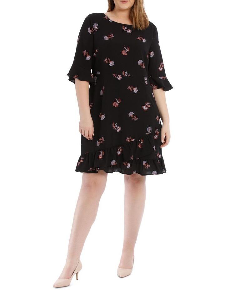 Ruffle Printed Dress image 1