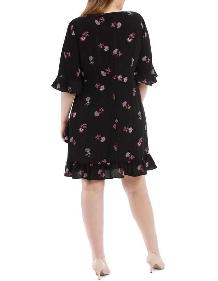 Ruffle Printed Dress image 3