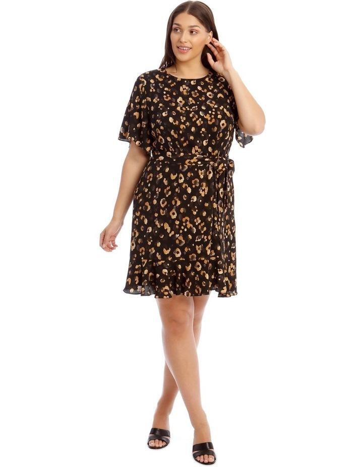 Flutter Sleeve Shift Dress image 1