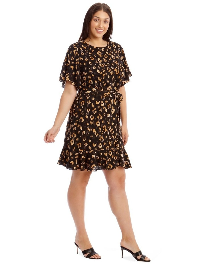 Flutter Sleeve Shift Dress image 2