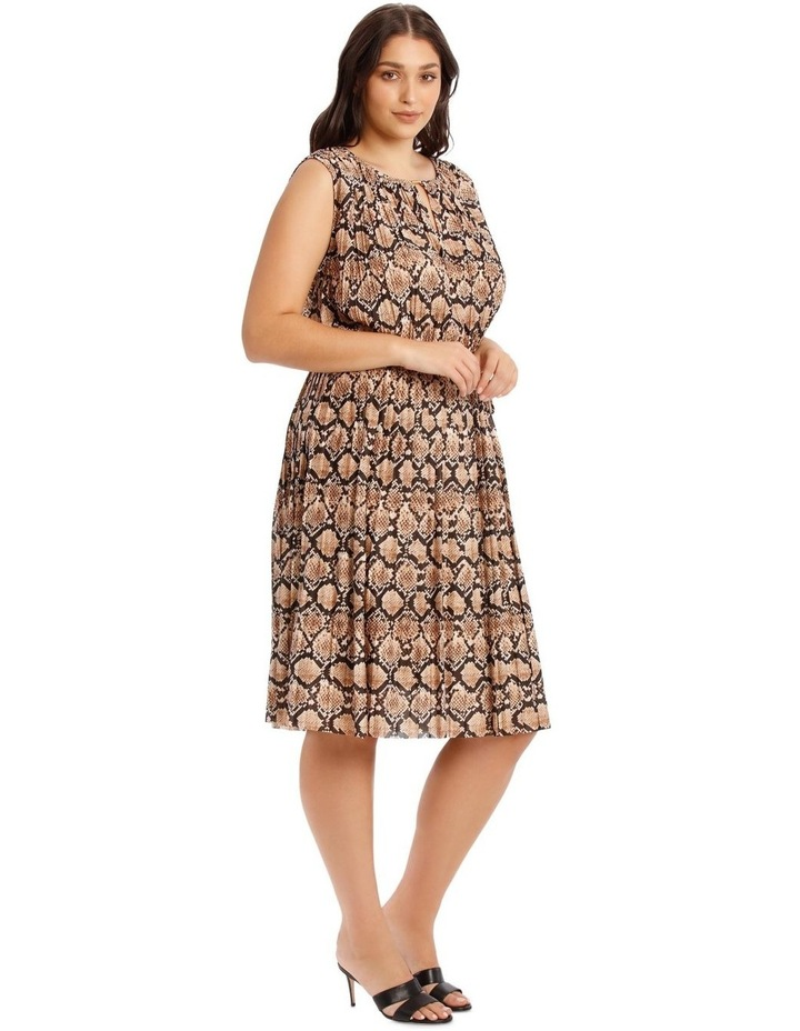 Pleated Jersey Dress image 2