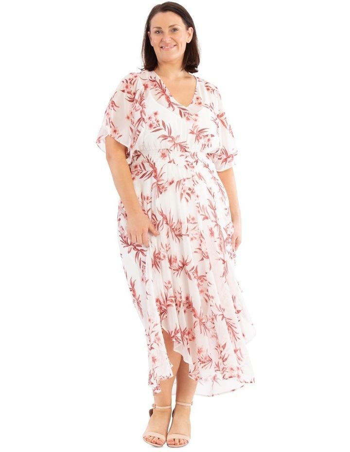 Ruffle Sleeve Hi-Lo Dress image 1