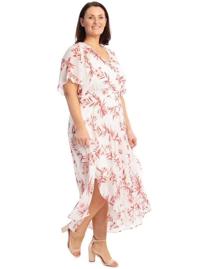 Ruffle Sleeve Hi-Lo Dress image 2