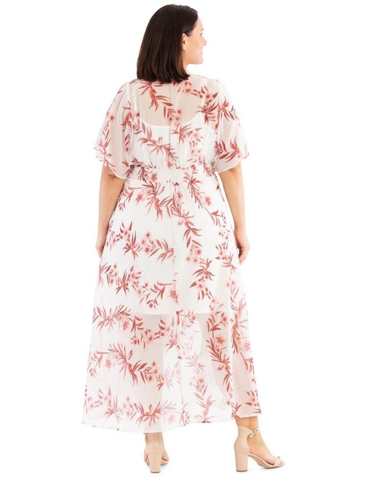 Ruffle Sleeve Hi-Lo Dress image 3