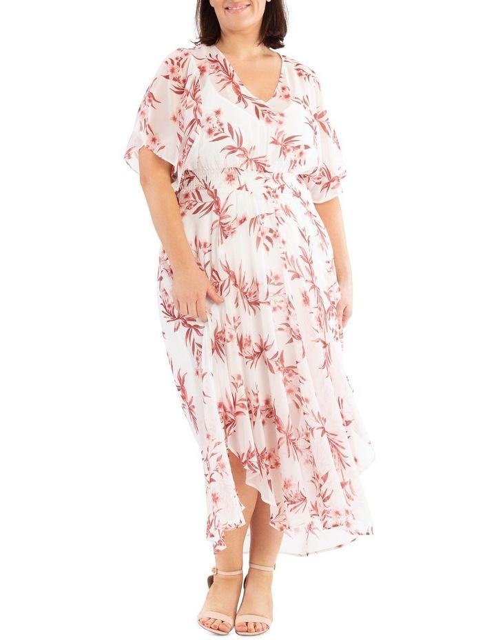 Ruffle Sleeve Hi-Lo Dress image 5