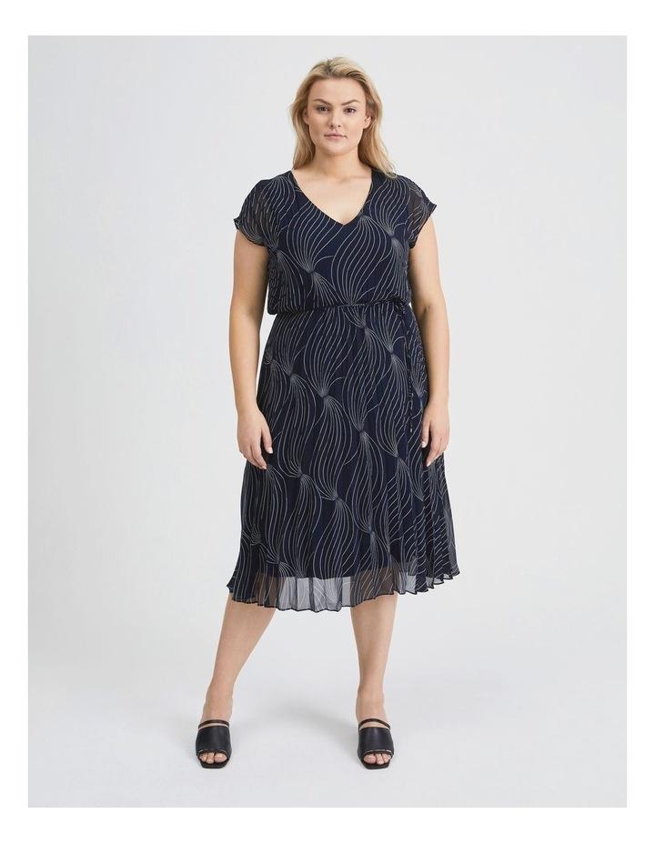 Elastic Pleated Dress image 1