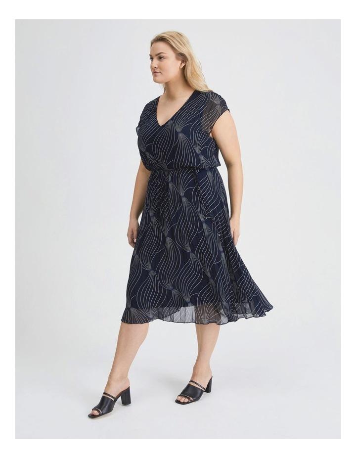 Elastic Pleated Dress image 2