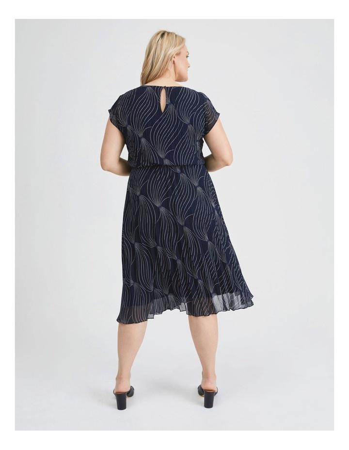 Elastic Pleated Dress image 3