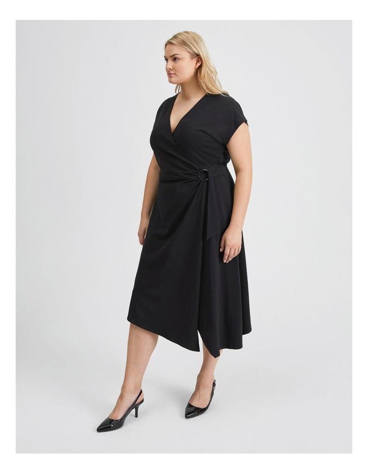Wrap Jersey Dress image 2