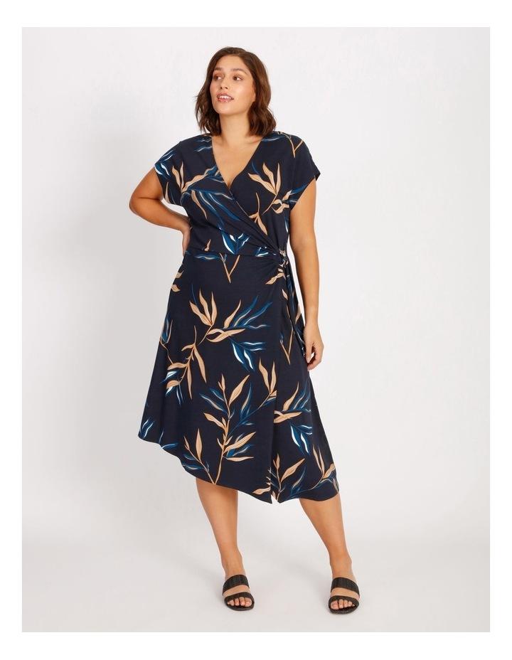 Wrap Jersey Dress image 1