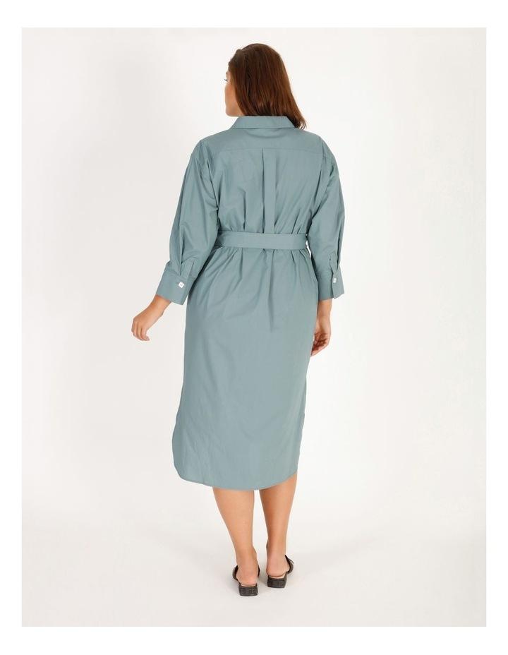 Poplin Shirt Dress image 3