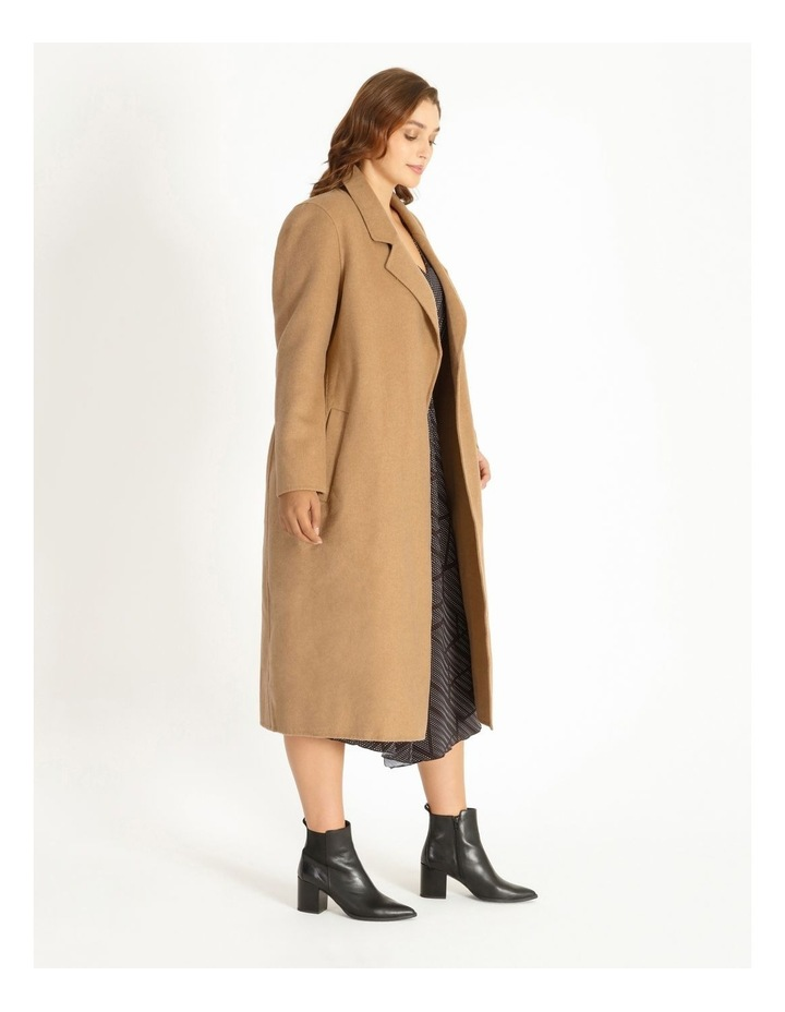 Wool Blend Wrap Coat image 2