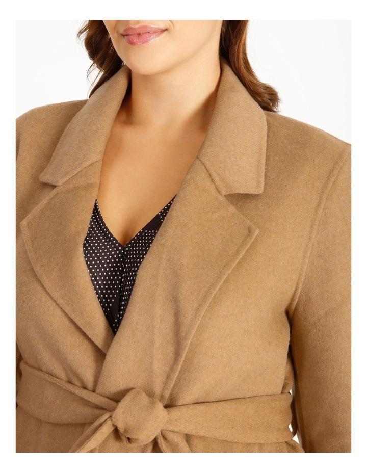 Wool Blend Wrap Coat image 5