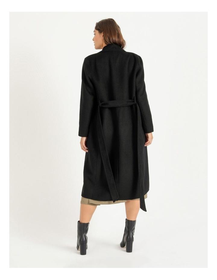Wool Blend Wrap Coat image 4