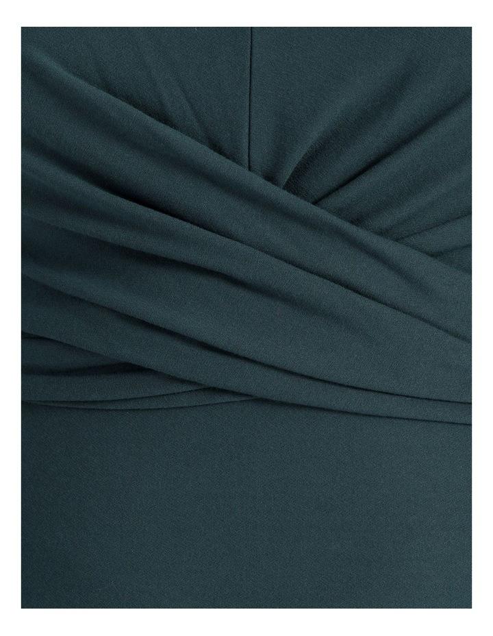 Long Sleeve Twist Jersey Dress image 5