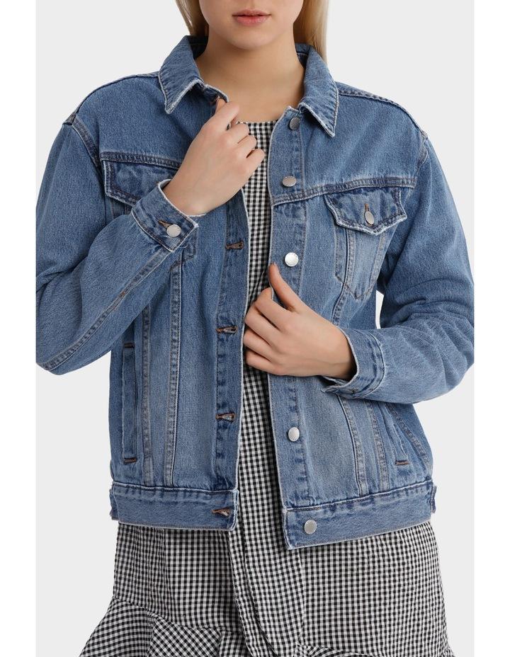 Oversized Denim Jacket image 1