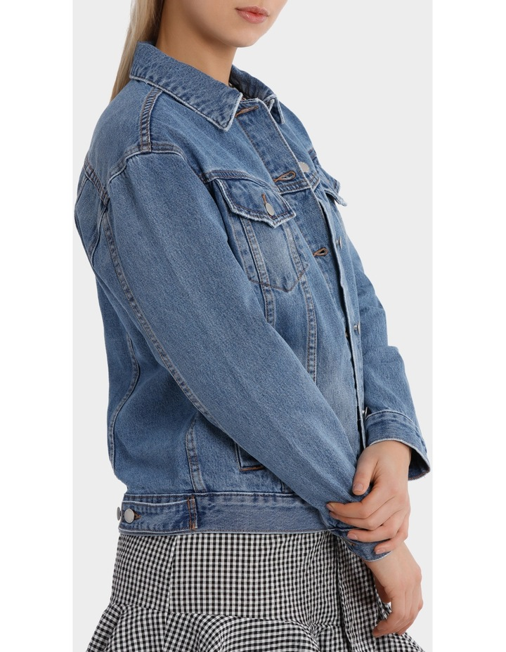 Oversized Denim Jacket image 2
