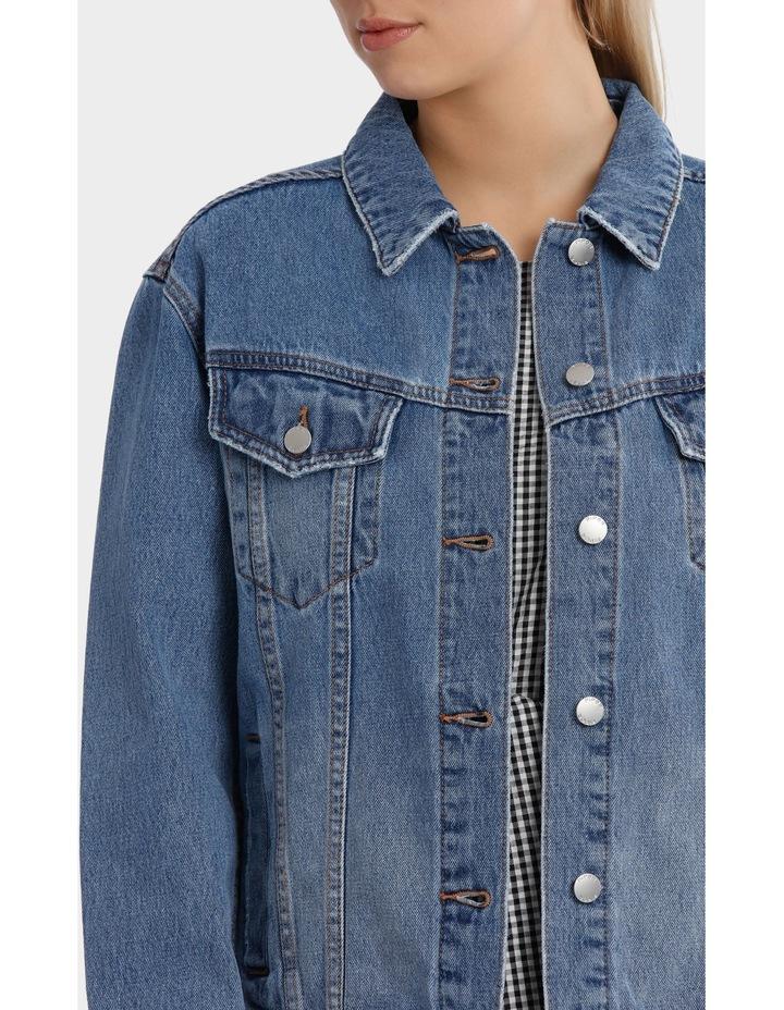 Oversized Denim Jacket image 4