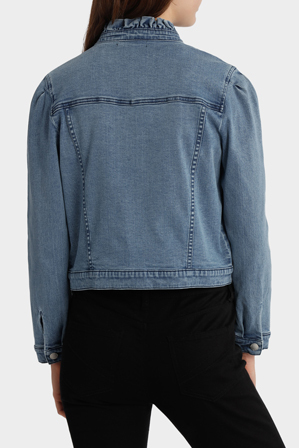 Piper - Denim Jacket with Frill