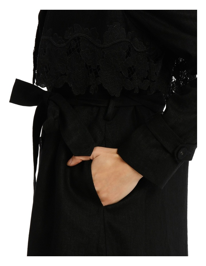 Trench With Lace Panel image 4