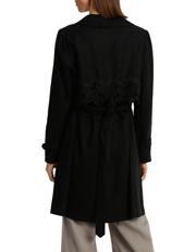 Piper - Trench With Lace Panel