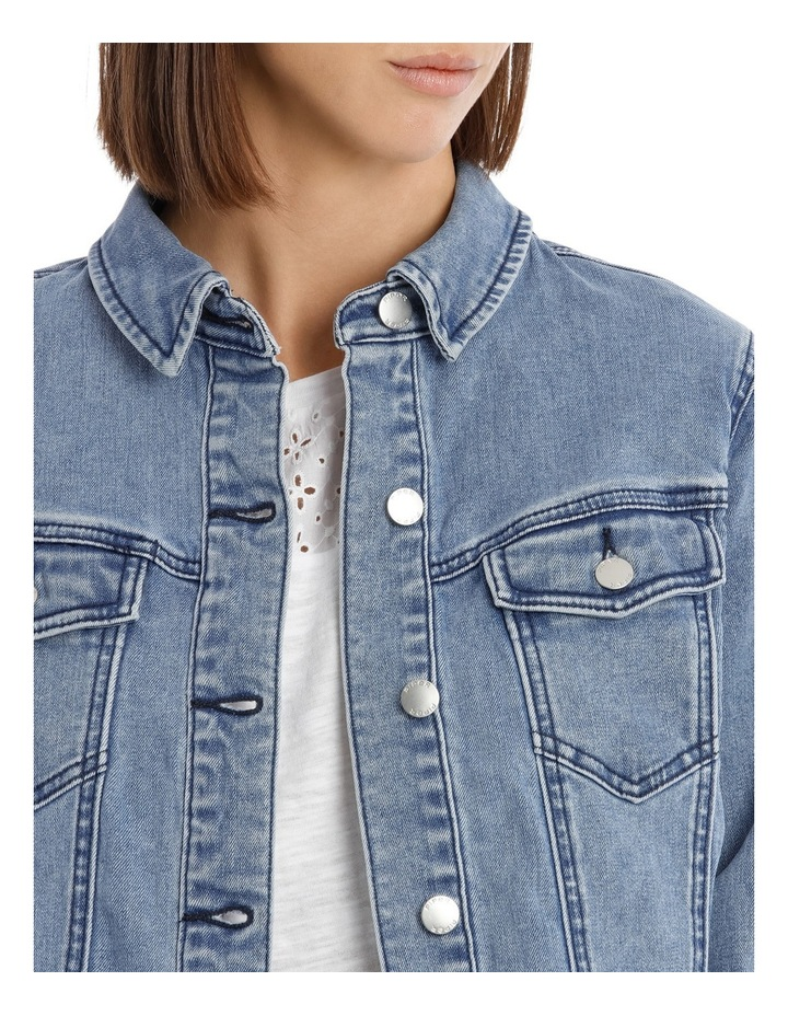 Denim Jacket Ruffle image 4