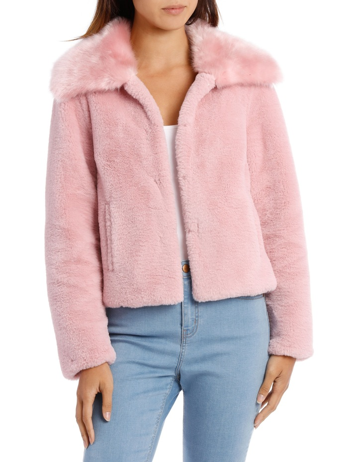 Jacket Fur With Heavy Collar image 1