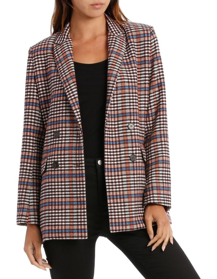 Jacket Check Double Breasted  3/4 image 1