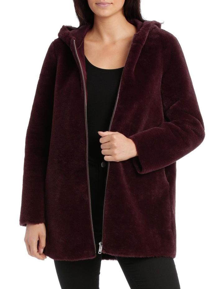 Jacket Faux Fur Anorak side pockets image 1