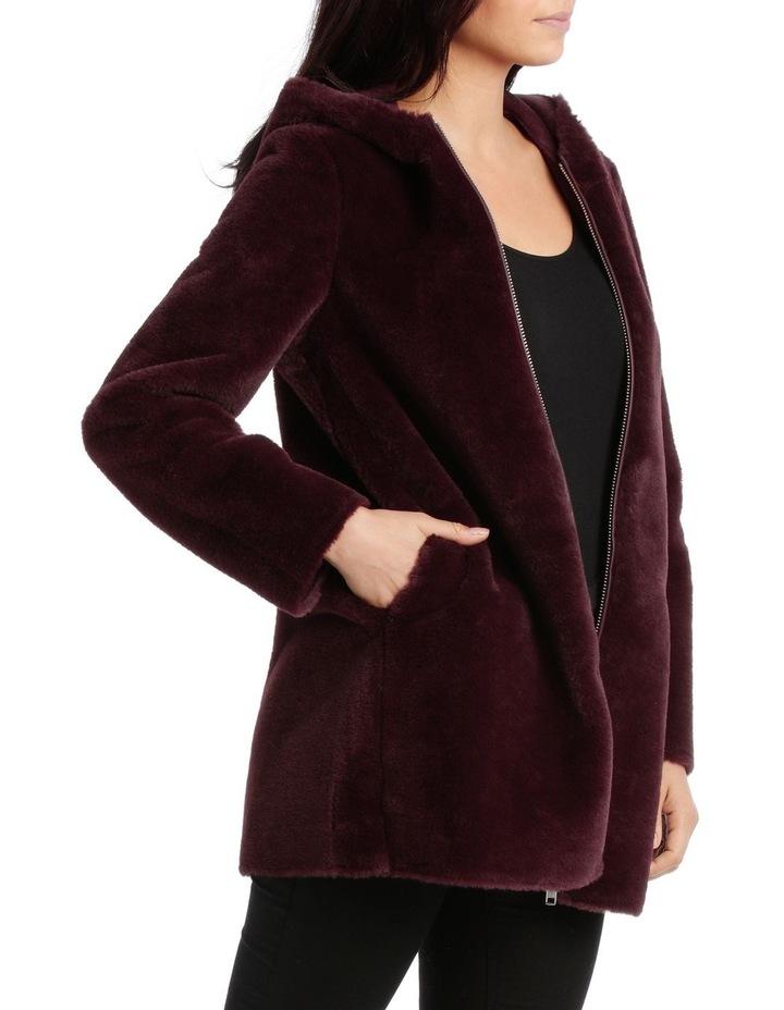 Jacket Faux Fur Anorak side pockets image 2