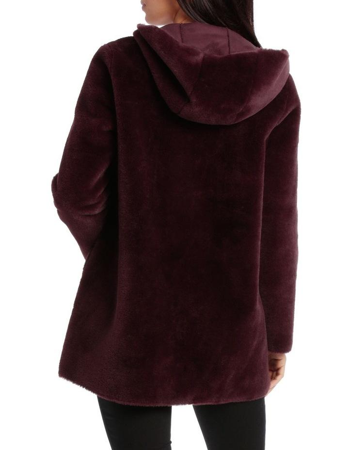 Jacket Faux Fur Anorak side pockets image 3