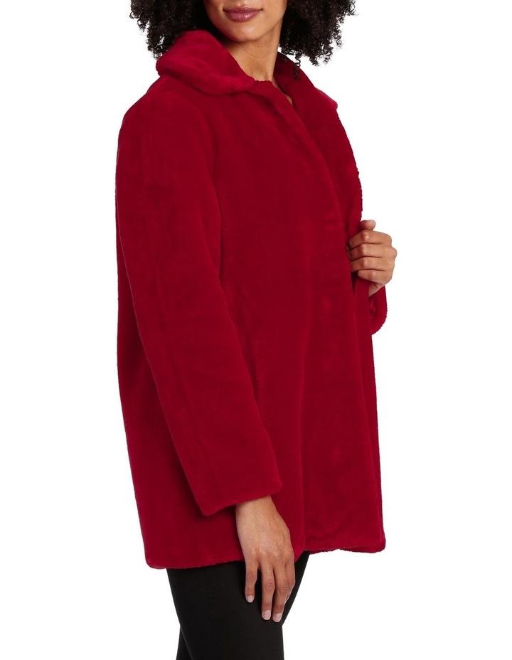 Fashion Coat Fur With Collar image 2