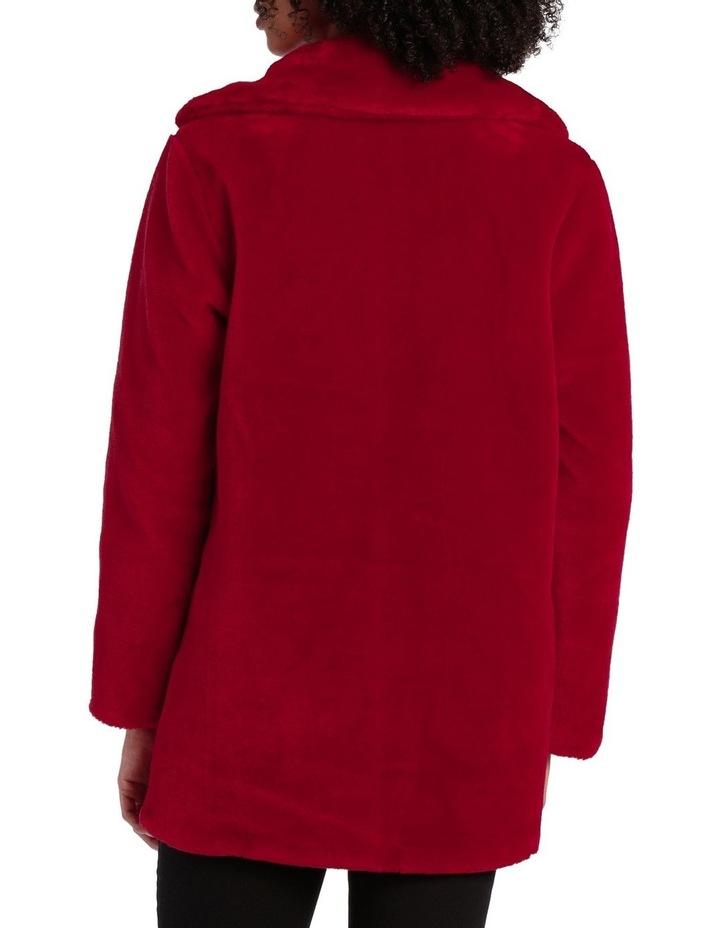 Fashion Coat Fur With Collar image 3