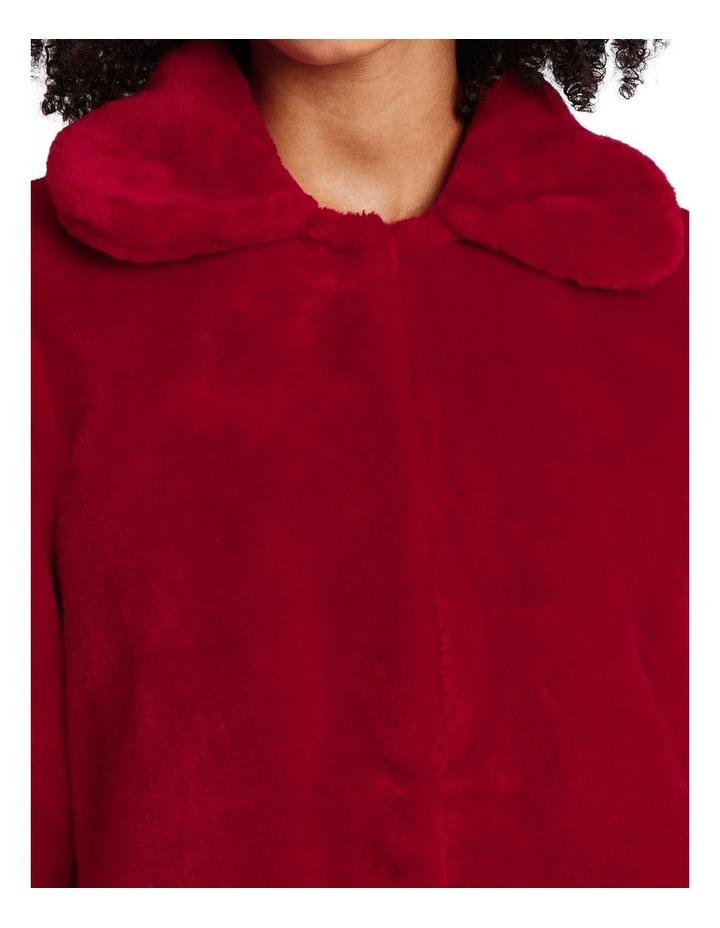 Fashion Coat Fur With Collar image 4