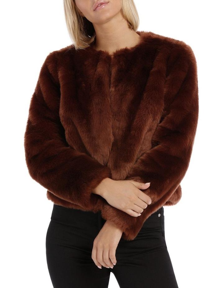 Jacket Fur Crop image 1