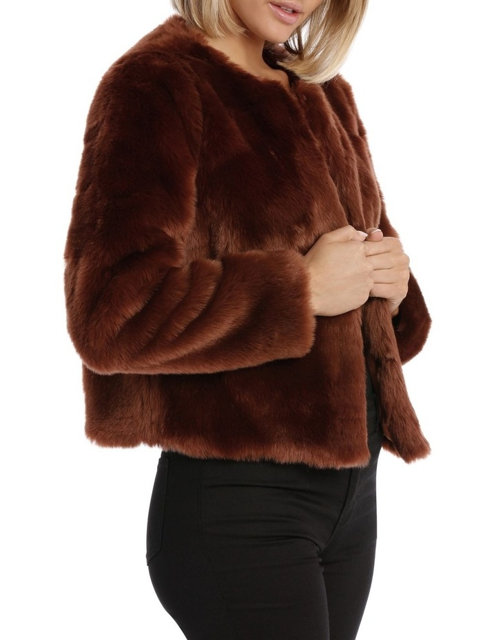 Jacket Fur Crop image 2